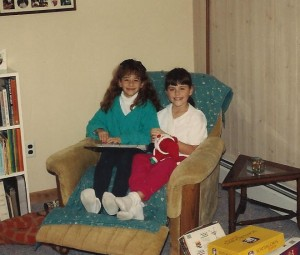 Me and my cousin back in the day...