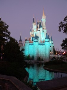 Cinderella's Castle at Disney World
