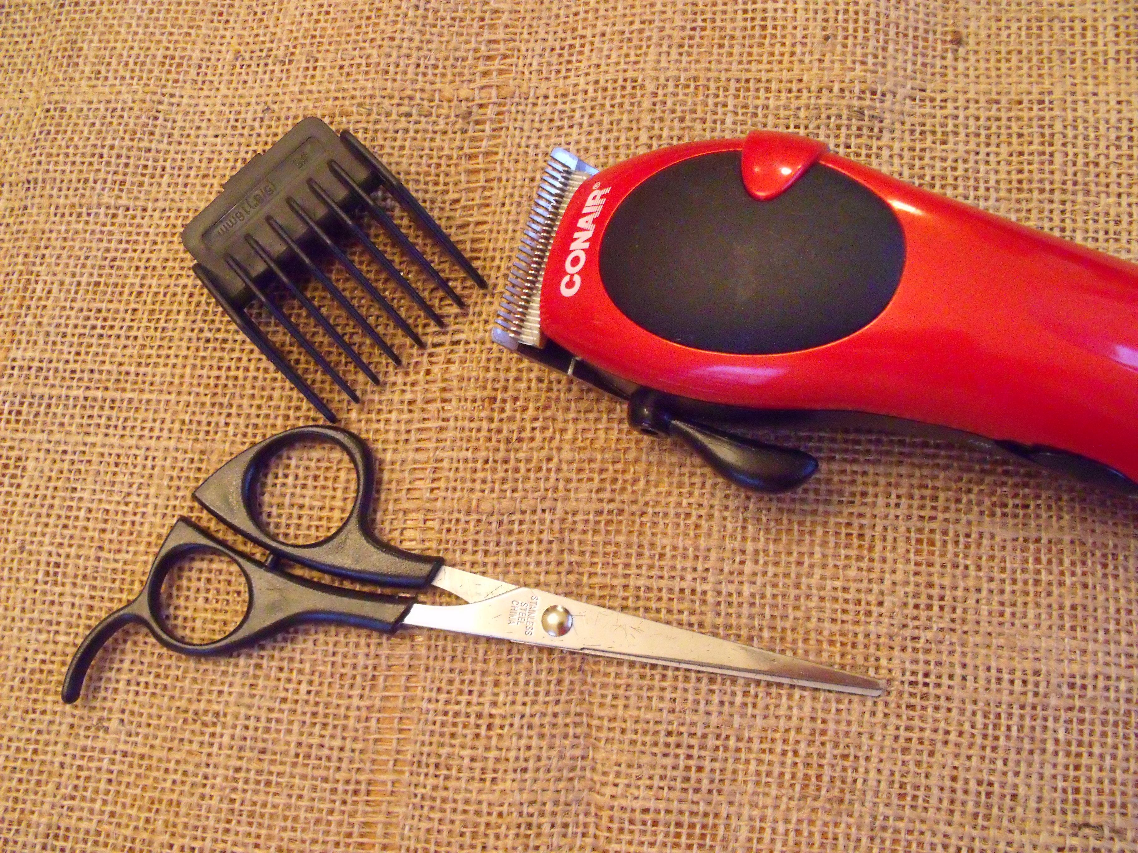 DIY Men's Haircut